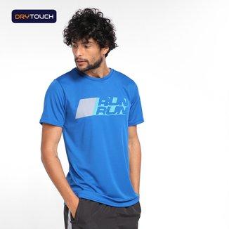 Camiseta Gonew Dry Touch Runrun Masculino