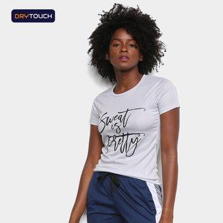 Camiseta Gonew Dry Touch Sweet Is Pretty Feminina