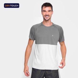Camiseta Gonew Duo Color Slim Masculina