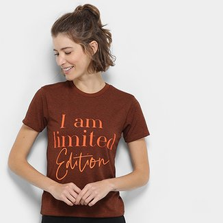 Camiseta Gonew I Am Limited Edition Feminina