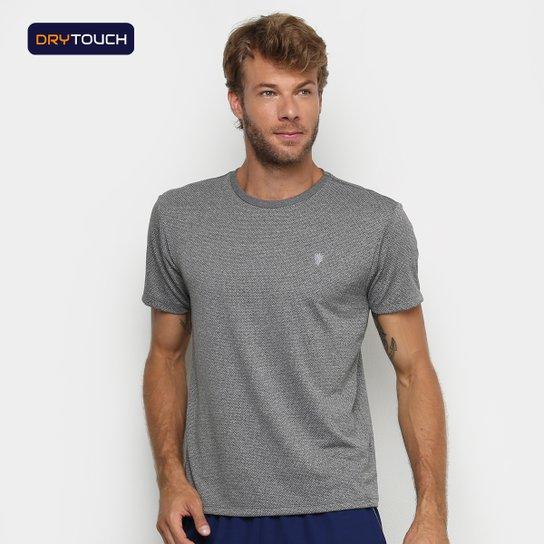 Camiseta Gonew Melange Workout Masculina - Mescla