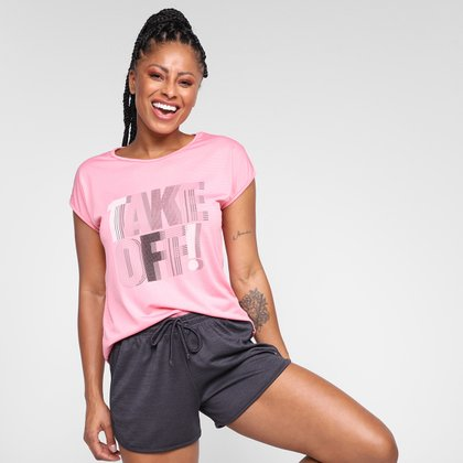 Camiseta Gonew Move On  Feminina
