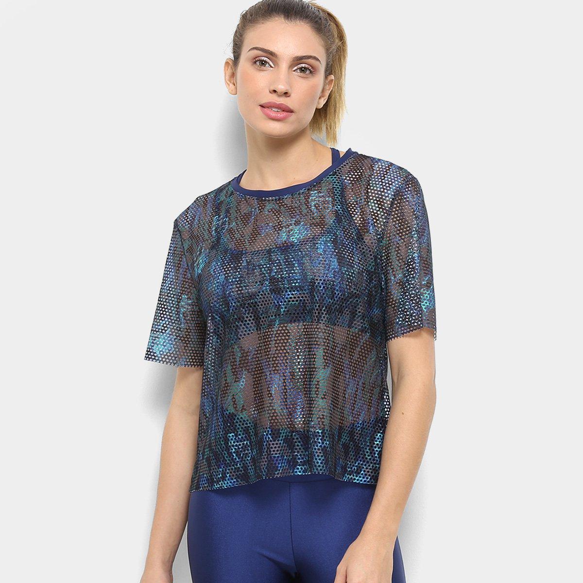 Camiseta Gonew Noronha Camiseta Feminina Gonew Azul 0zdSvwzq