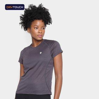 Camiseta Gonew Stronger Melange Feminina