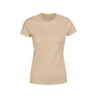 Camiseta Goup Supply Lisa Básica Premium 100% Algodão Feminina