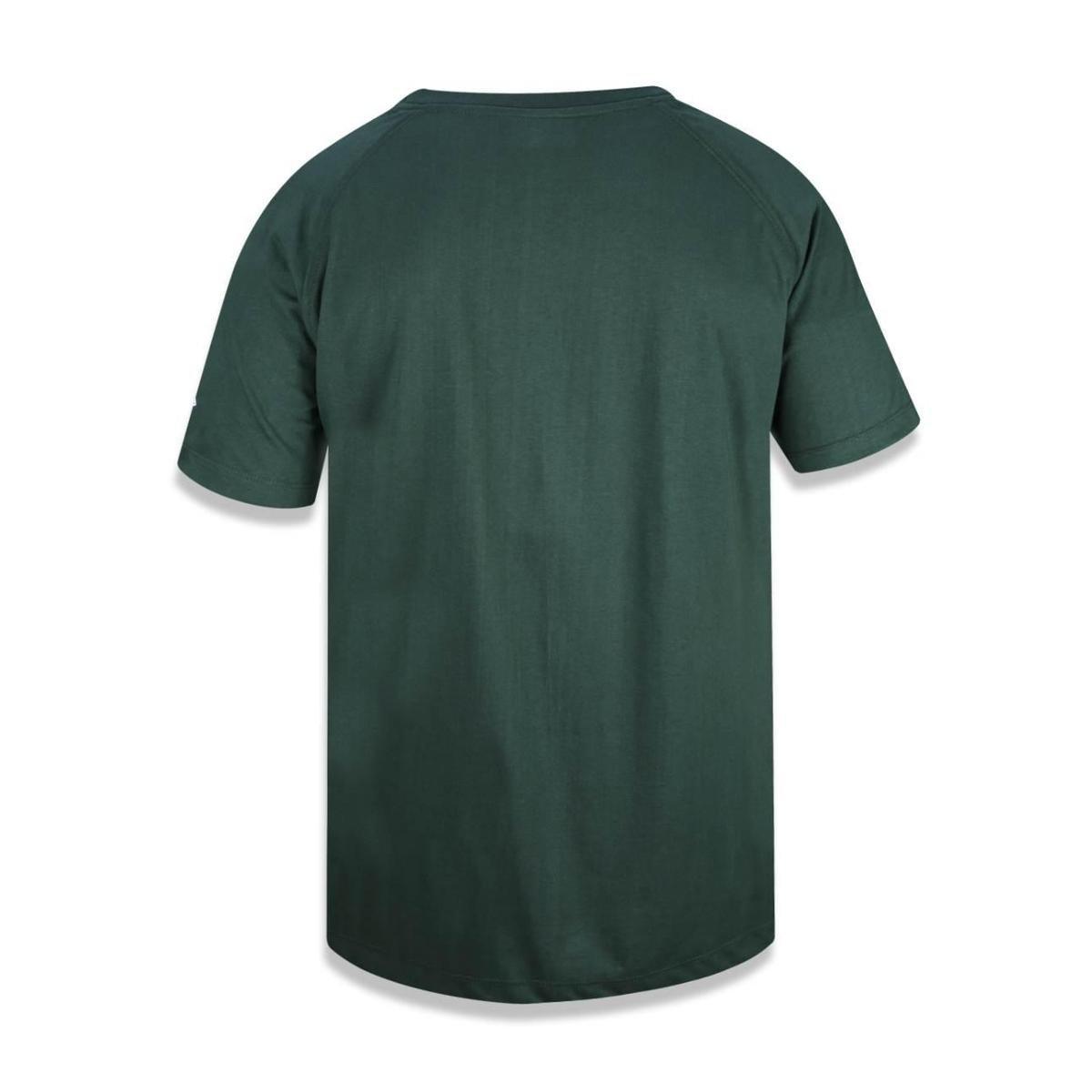 Camiseta Green Bay Packers NFL New Era Masculina - Verde - Compre ... 677e2673f66