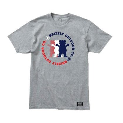 CAMISETA GRIZZLY FACEOFF TEE