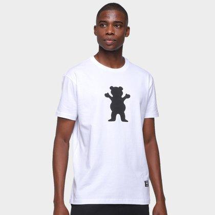 Camiseta Grizzly Og Bear Puff Masculina