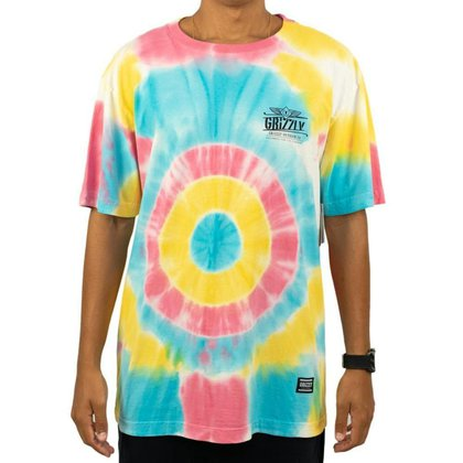 Camiseta Grizzly Outdoor Equip Tie Dye Masculina