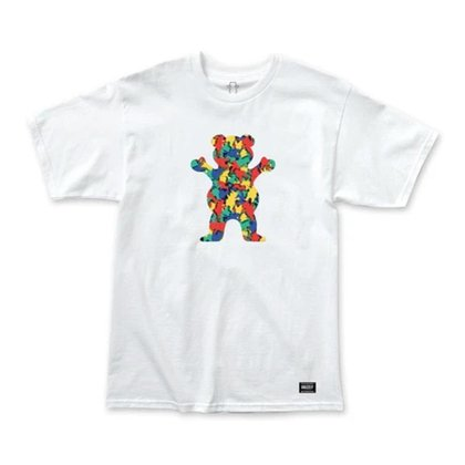 CAMISETA GRIZZLY PATTERN FILL TEE