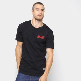 Camiseta Grizzly Squaid Masculina