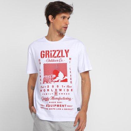 Camiseta Grizzly Tagline Masculina