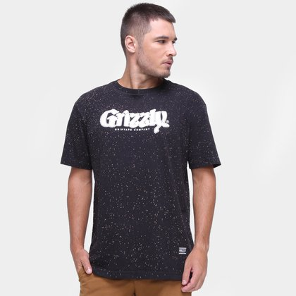 Camiseta Grizzly Tree Top Masculina