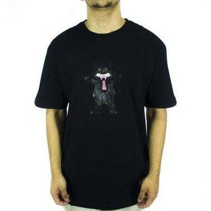 Camiseta Grizzly Trucker Black Masculina