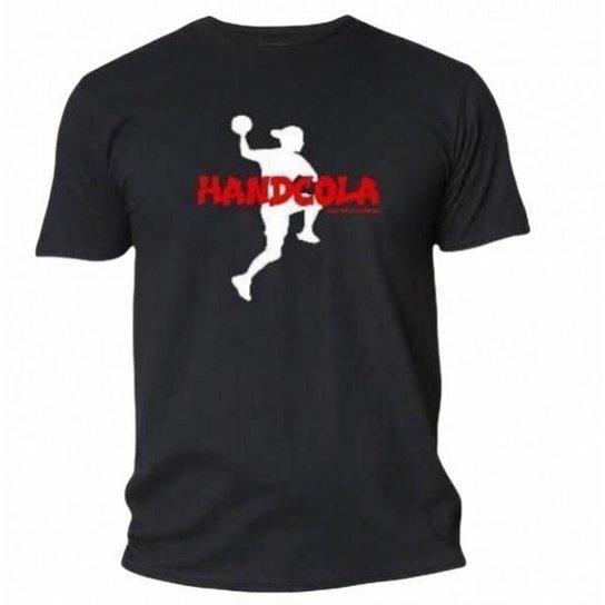Camiseta HandCola - Preto