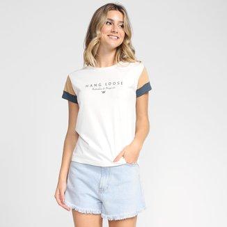 Camiseta Hang Loose Authentic Original Feminina