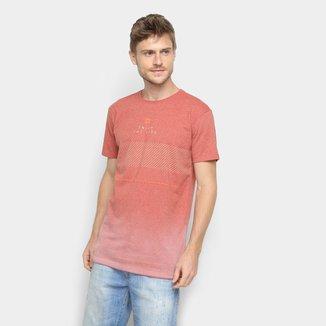 Camiseta Hang Loose Estampada Pavones Masculina