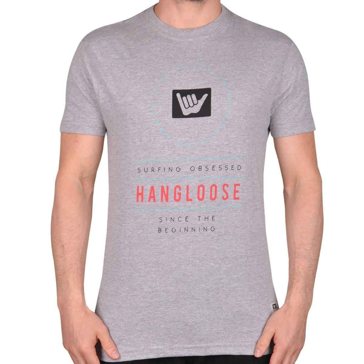 Cinza Loose Hang Roots Camiseta Hang Camiseta Loose Roots wfU0Xq