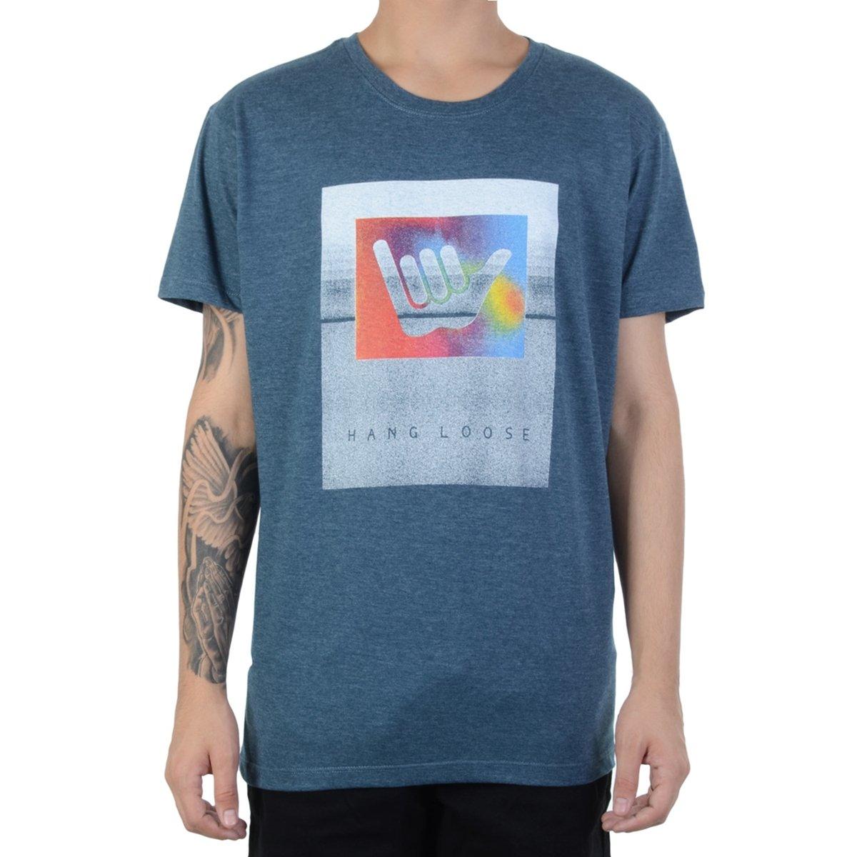 Camiseta Hang Loose Shakabow - Compre Agora  b3965ea210d82
