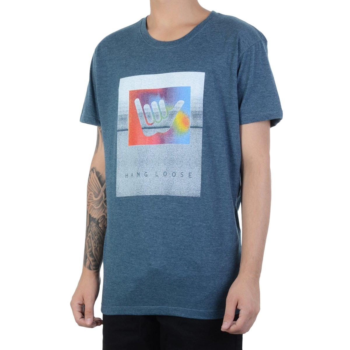 Camiseta Hang Loose Shakabow  Camiseta Hang Loose Shakabow ... afc9c5ae11475