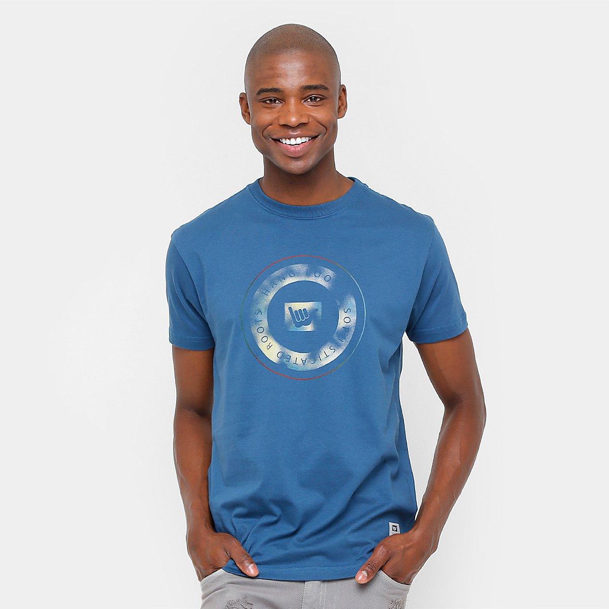 b4a3cc718c Camiseta Hang Loose Silk Circle Masculina - Compre Agora