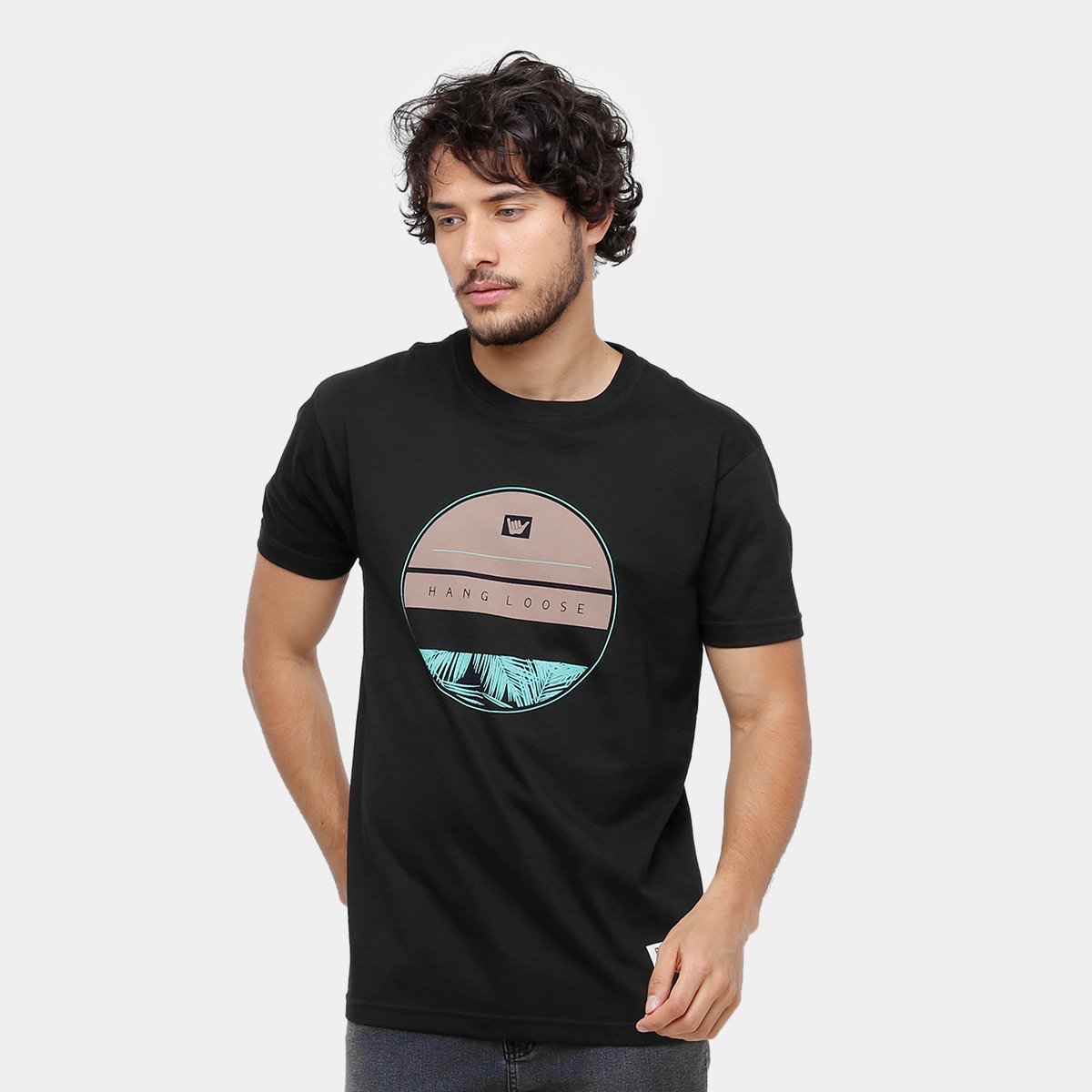 8d152d3c9a Camiseta Hang Loose Silk Native Masculina - Compre Agora