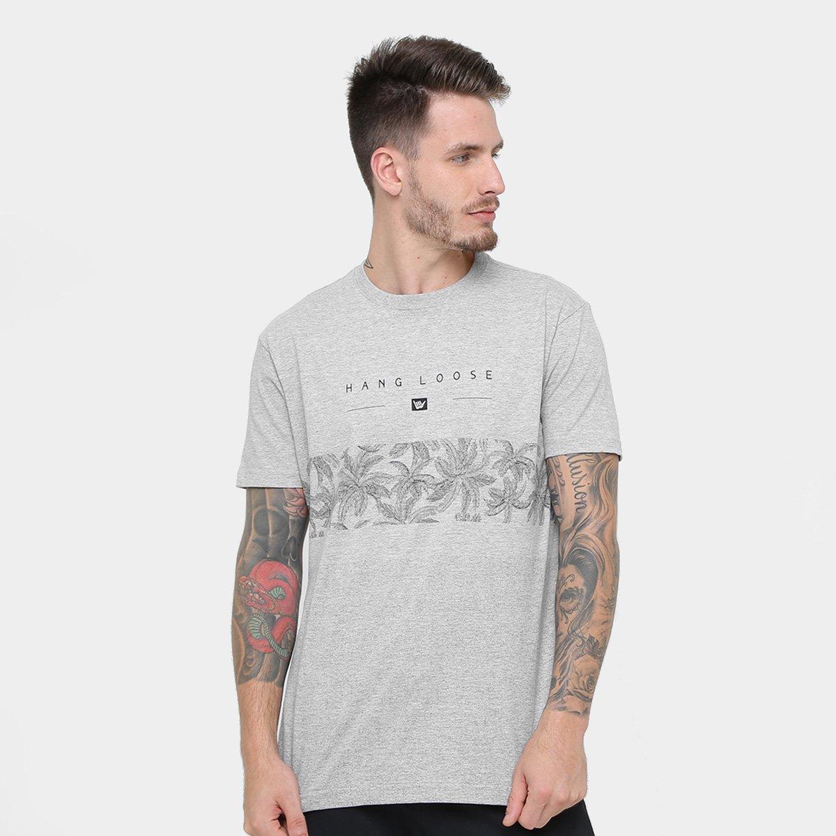 Camiseta Hang Loose Silk Palmcore Masculina - Compre Agora  cf7b264d08ac8