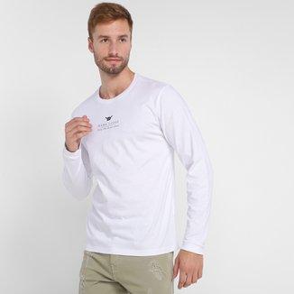 Camiseta Hang Loose Silk Shell Manga Longa Masculina
