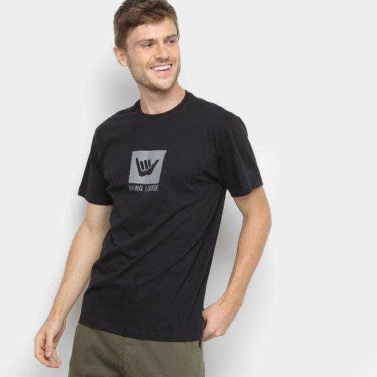 Camiseta Hang Loose Silk Surf Masculina - Preto