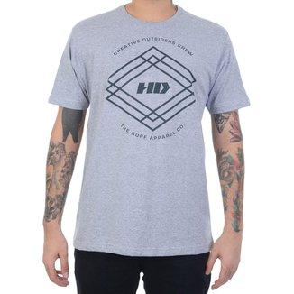 Camiseta HD Triangle Crew Masculino