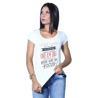 Camiseta Heide Ribeiro Work Hard Give Your Best