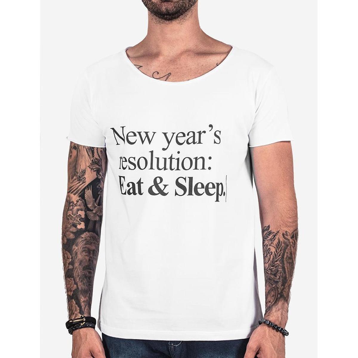 4116ea07e8 Camiseta Hermoso Compadre New Year s Resolution Masculina - Compre ...