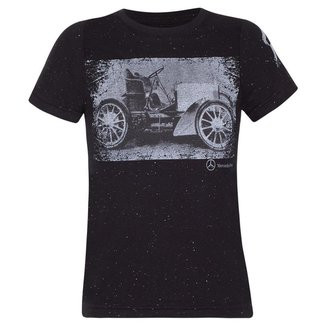 Camiseta History Infantil Vintage Mercedes-Benz