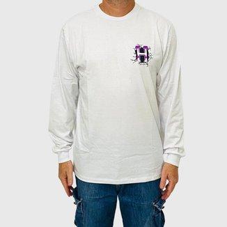 Camiseta HUF Manga Longa Giga Melted Masculina
