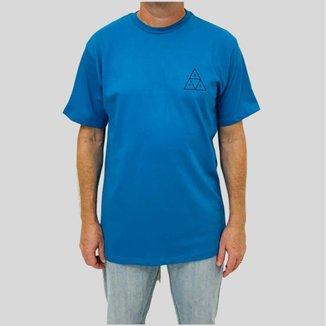 Camiseta Huf Silk Esentials TT Turquesa Masculina