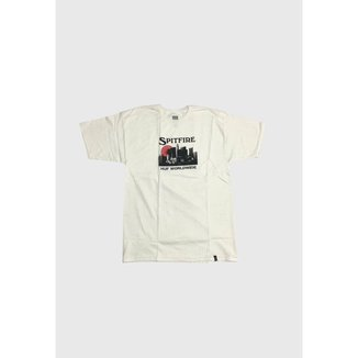 Camiseta Huf x Spitfire Skyline Masculina