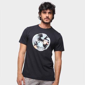 Camiseta Hurley Crush Pe Masculina