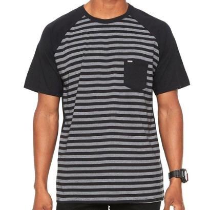 Camiseta Hurley Especial Stripe - Masculino