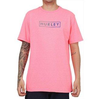 Camiseta Hurley Gradient Rosa