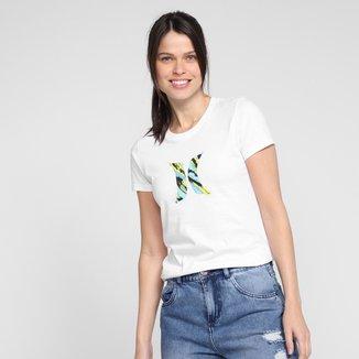 Camiseta Hurley Icon Smoke Feminina