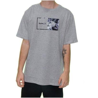 Camiseta Hurley Silk Floral Masculina