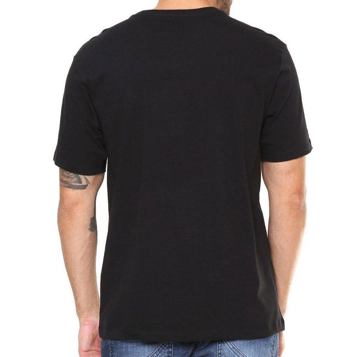 Camiseta Hurley Silk Hawaii Hunt - Preto - Compre Agora  5de85b333cc