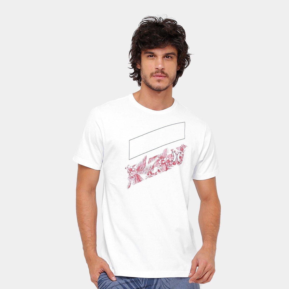 f43fdb27bb018 Camiseta Hurley Silk Icon Slash Hilo Masculina - Compre Agora