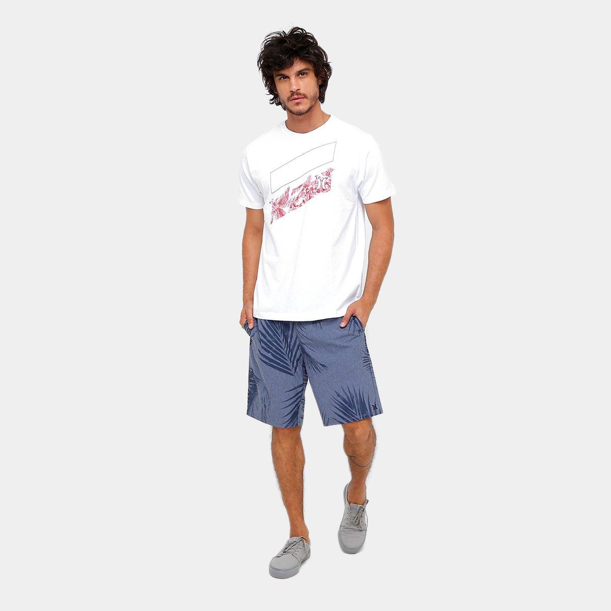 Camiseta Hurley Silk Icon Slash Hilo Masculina - Compre Agora  beffb1b3f08