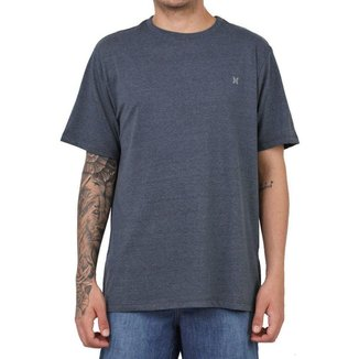 Camiseta Hurley Silk Mini Icon Cinza