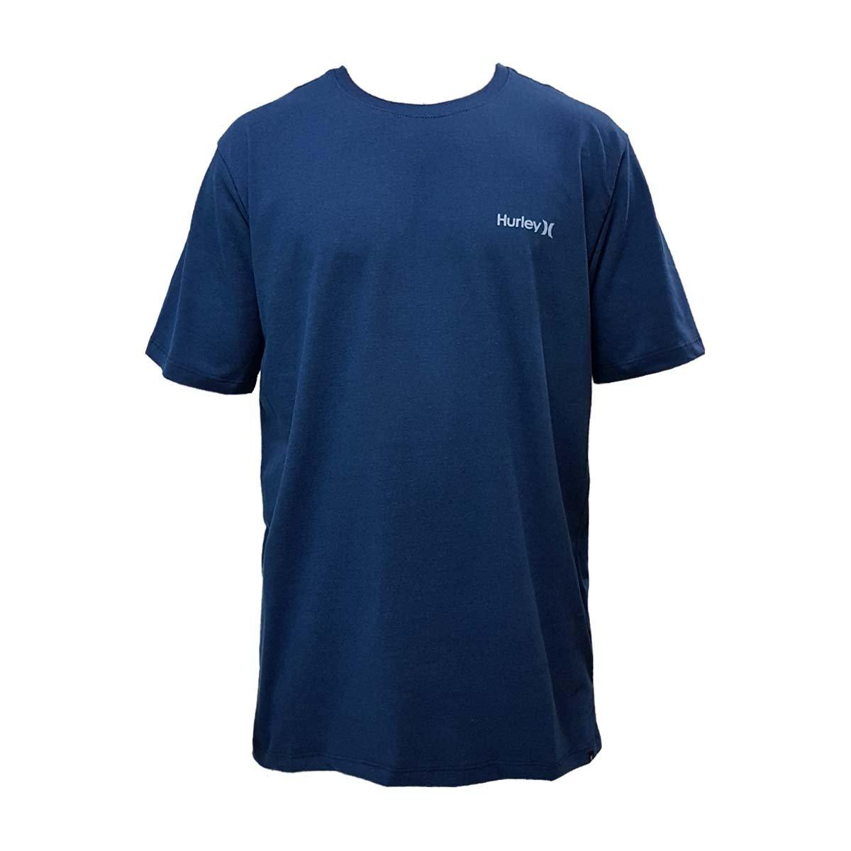 Camiseta Hurley Silk O O Azul - Compre Agora  5667f6704d2