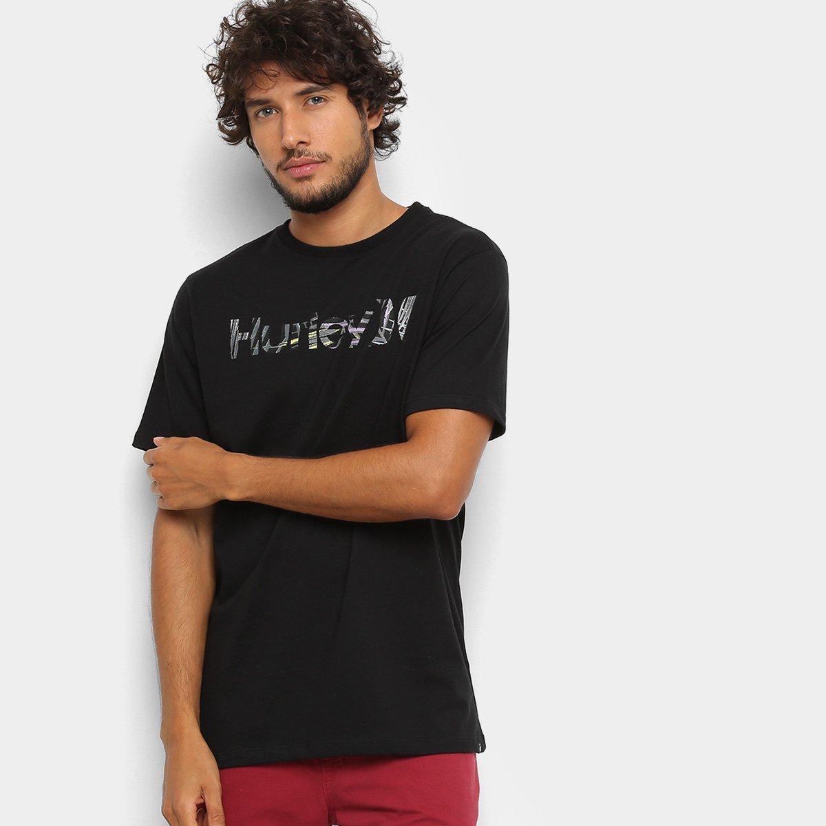 af12457e2e Camiseta Hurley Silk O O Florest Masculina - Preto - Compre Agora ...
