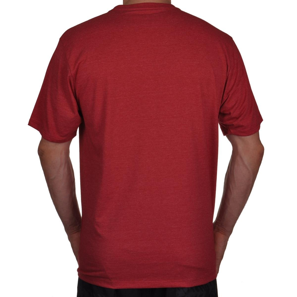 Vermelho Camiseta amp;O Camiseta Hurley Hurley Masculino Silk O 8qn015zw