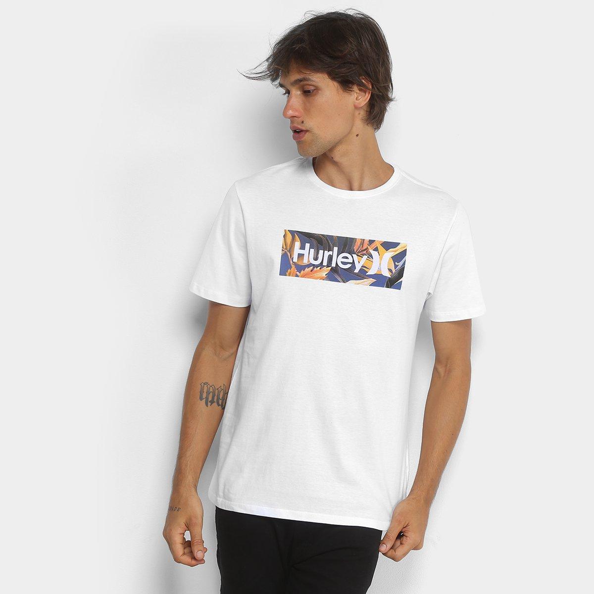 58e4e8fc81 Camiseta Hurley Silk O O Tropic Masculina - Compre Agora
