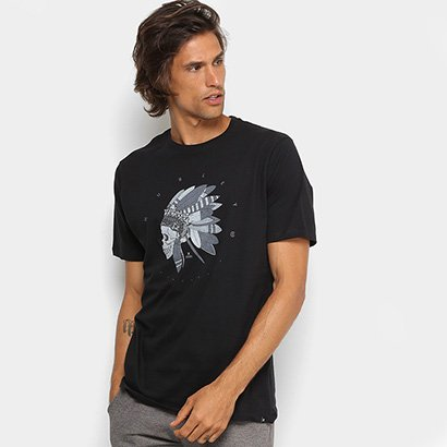 Camiseta Hurley Silk Quiver Masculina - Masculino